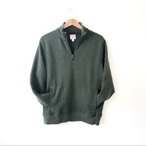 JCrew Summit Fleece Half-Zip Pullover Jacket